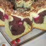 Łatwe ciasto ucierane z malinami i kremem