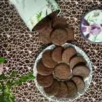 Ciasteczka czekoladowe z nutką rumu.