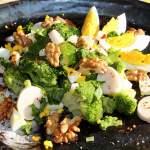 Sałatka brokułowa z sercami palm/palmito