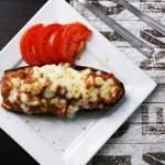 Bakłażan faszerowany mięsem mielonym – gluten free, lactose free, LOW FODMAP