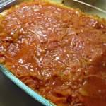 Zapiekanka gołąbkowa-pomysł na pyszny obiad-smak gołąbków bez ciężkiej pracy :)