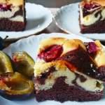 Ciasto Izaura ze śliwkami