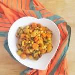 Wegetariańskie curry z ziemniakami i ciecierzycą / Vegetarian Potato and Chickpea Curry