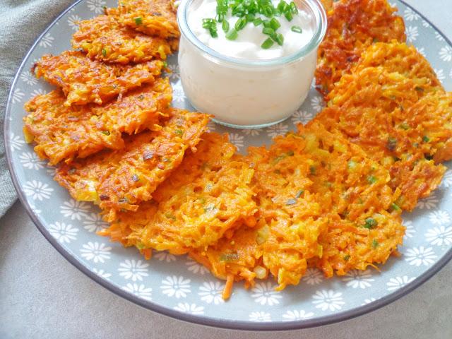 Placki marchewkowe (Frittelle di carote)