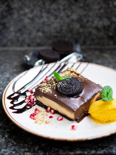 Ciasto OREO z kaszą jaglaną