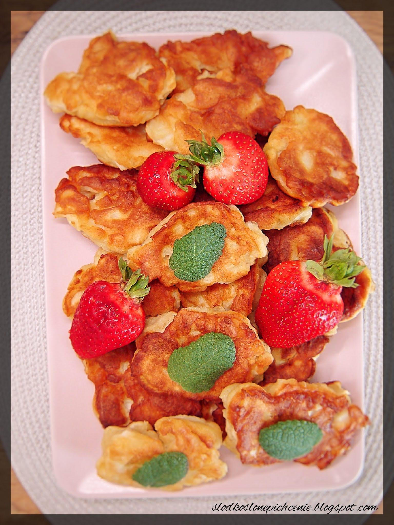 Placki z jabłkami i ricottą