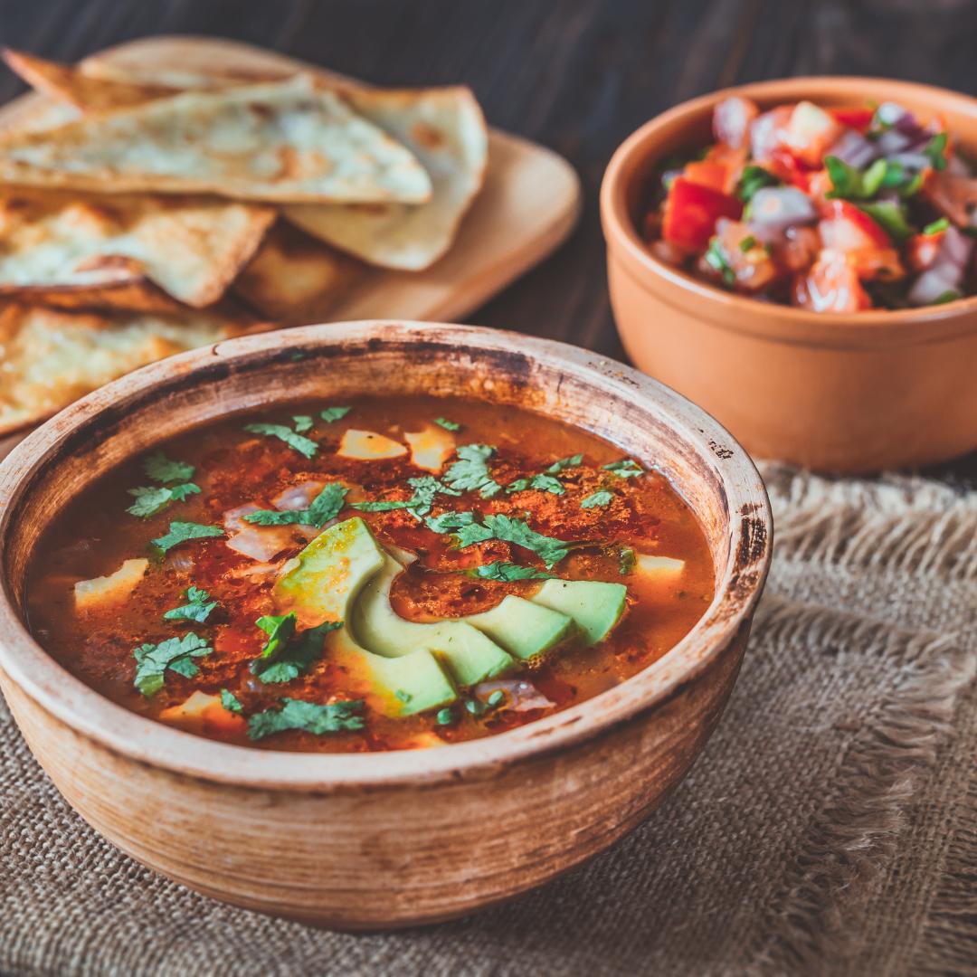 Pikantna zupa meksykańska fit przepis
