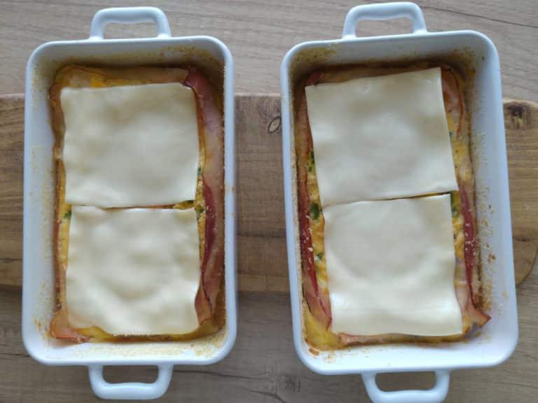 Zapiekana jajecznica pomysłem na inne śniadanie