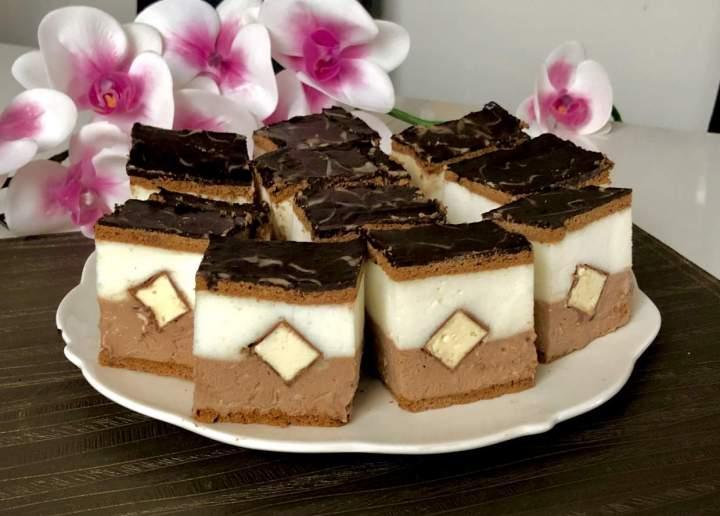 Kapucynek – ciasto bez pieczenia