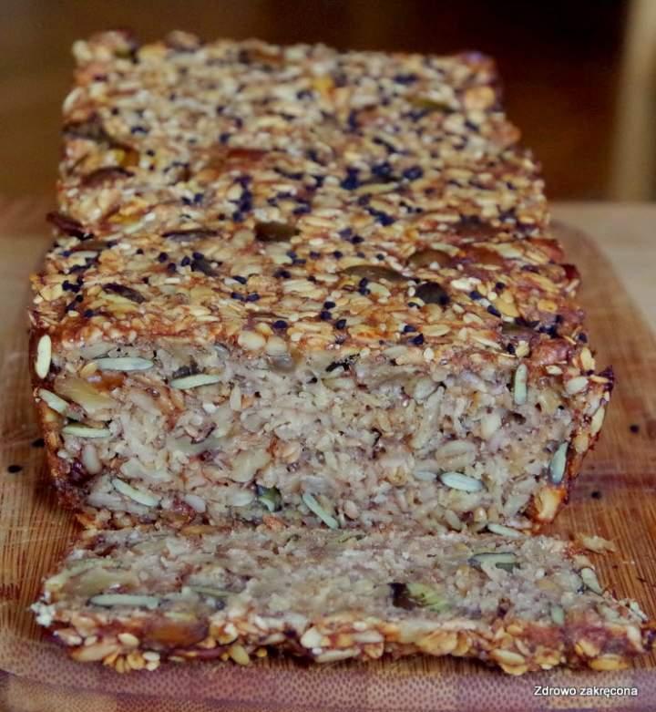 Chleb wieloziarnisty wysokobłonnikowy, co ponoć niejedno życie już zmienił