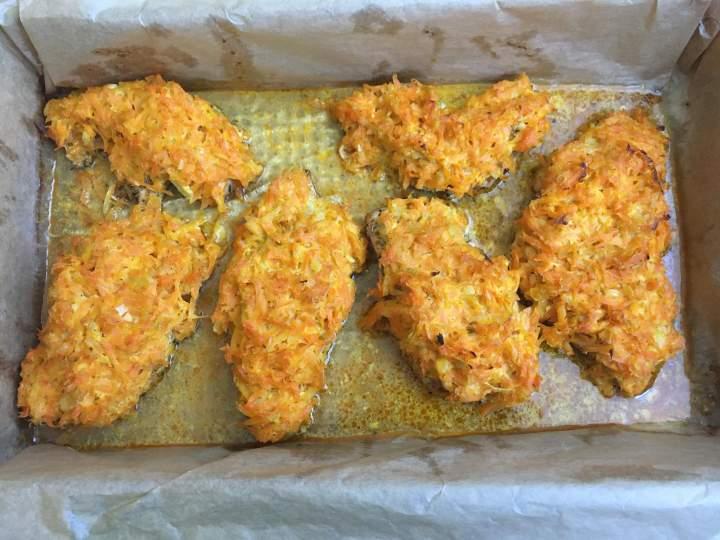Pierś z kurczaka pod marchewkową pierzynką