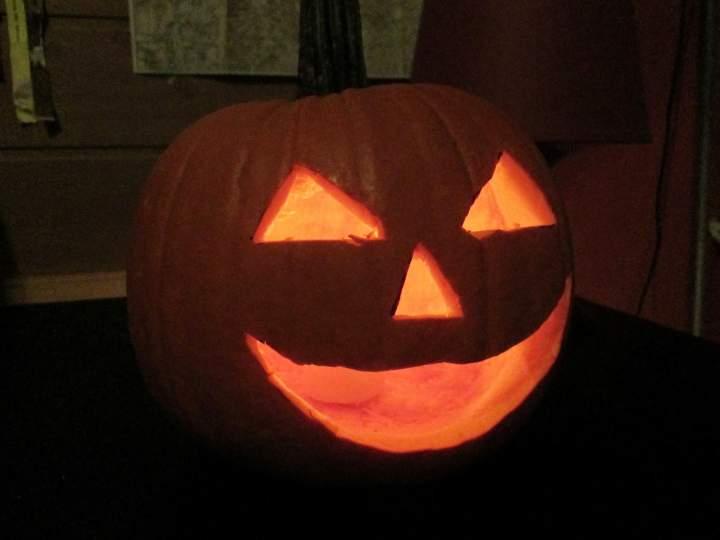Jack-o'-lantern, czyli dynia na Halloween