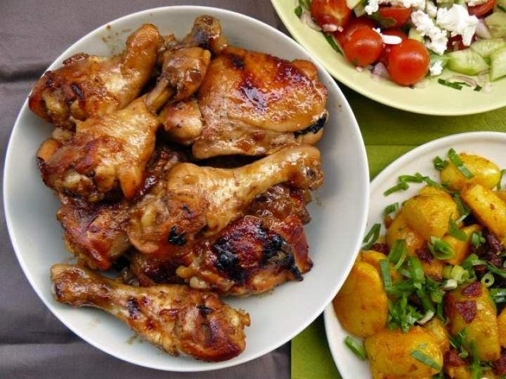 Szybkie, proste, smaczne udka z kurczaka