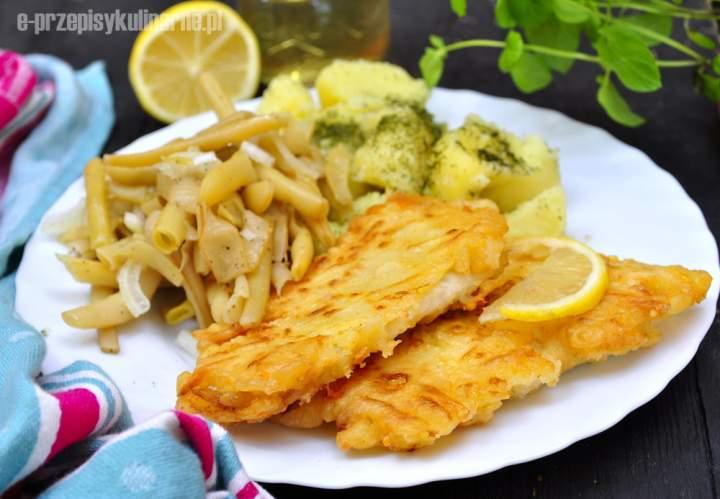 Ryba w cieście serowym