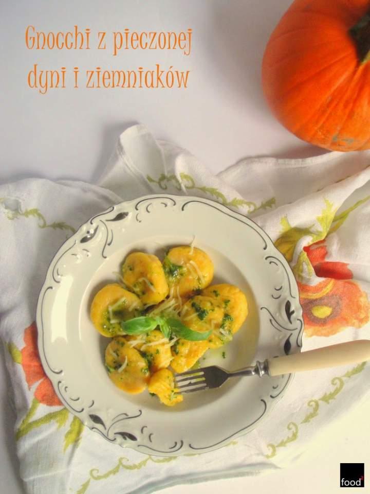 Gnocchi z pieczonej dyni i ziemniaków
