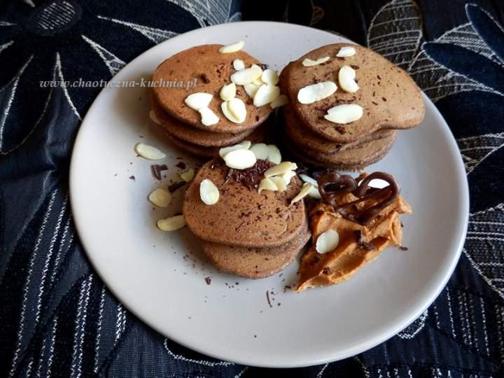 Czekoladowe placki kawowe