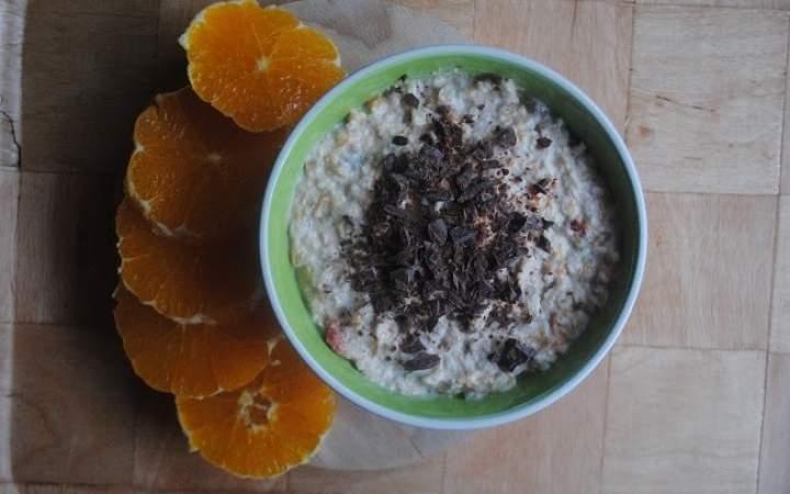 850. Dyniowo- bananowa owsianka jogurtowa