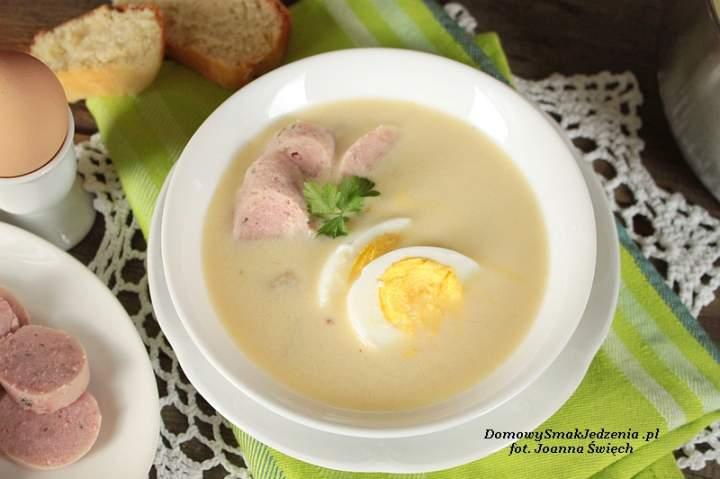 zupa chrzanowa na Wielkanocne śniadanie