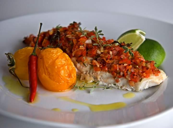 Aromatyczna ryba na ostro – czarniak