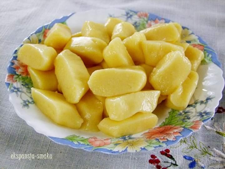 3 składnikowe kopytka bez mąki pszennej