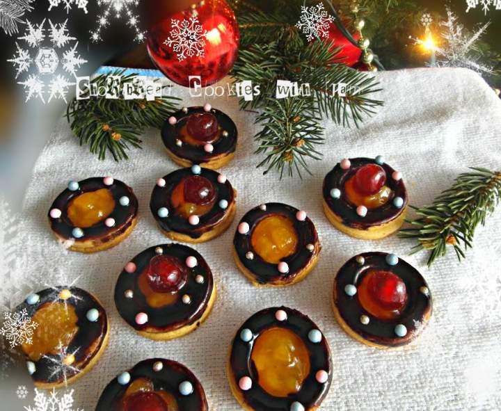 Kruche ciasteczka z konfiturą – Shortbread Cookies with Jam
