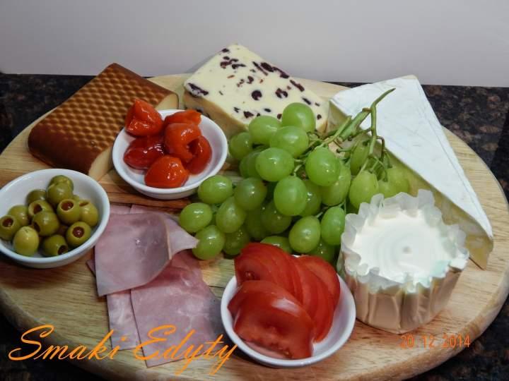 Przystawka z serów III- przekaski