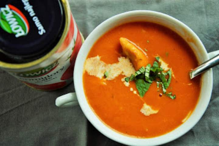 Zupa TOMATO i tamto też ma:)
