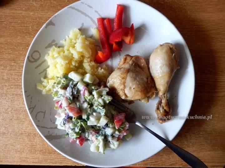 Sałatka z pomidorem i rzodkiewką