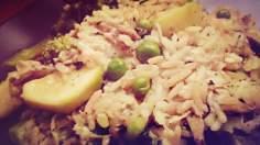 Porosołowe, zielone risotto