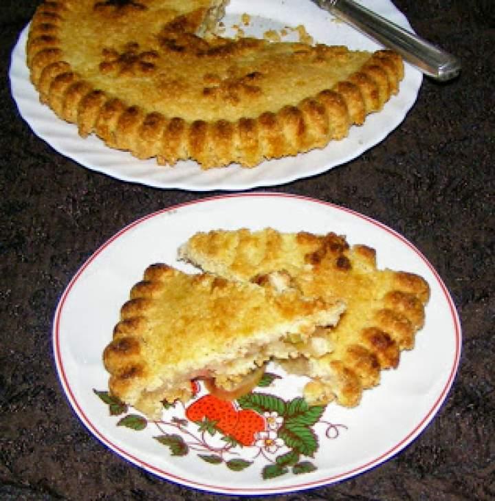 "tarta ""paryska"" z jabłkami…"