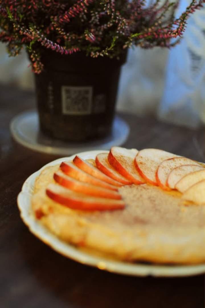 327# placek z jabłkiem i cynamonem