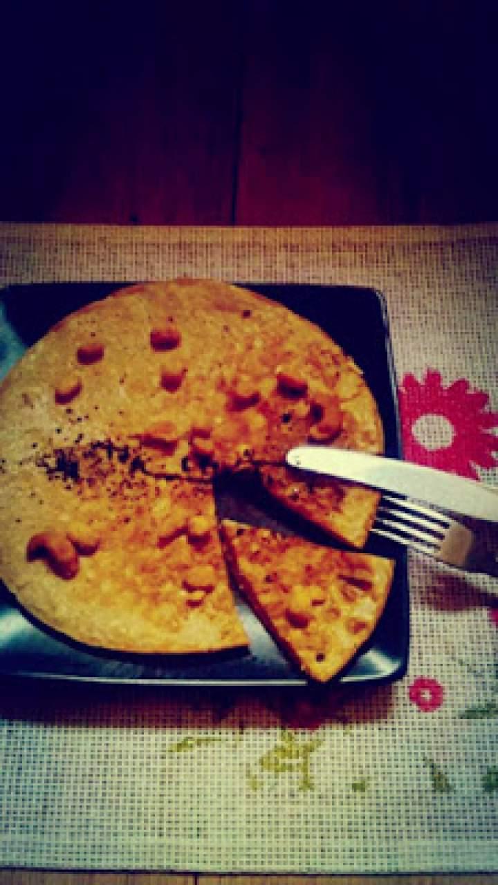Kawowy omlet z kardamonem