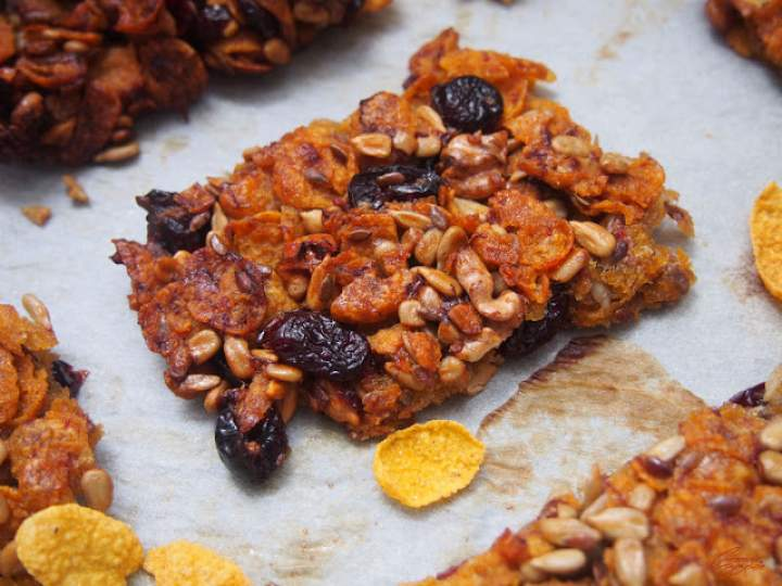 Bakaliowe ciasteczka kukurydziane