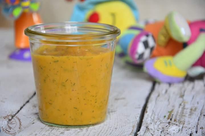 Zupka z natką pietruszki- dla niemowląt