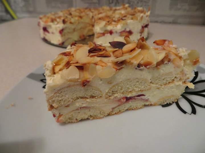 Tort Malakoff – bez pieczenia.