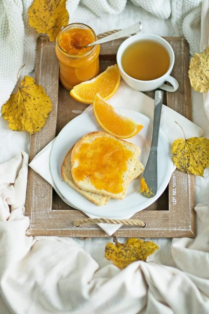 Dżem dyniowo-jabłkowy z pomarańczą