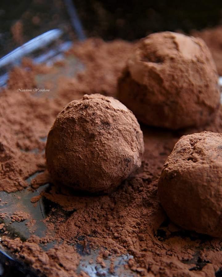 Trufle czekoladowo-rumowe