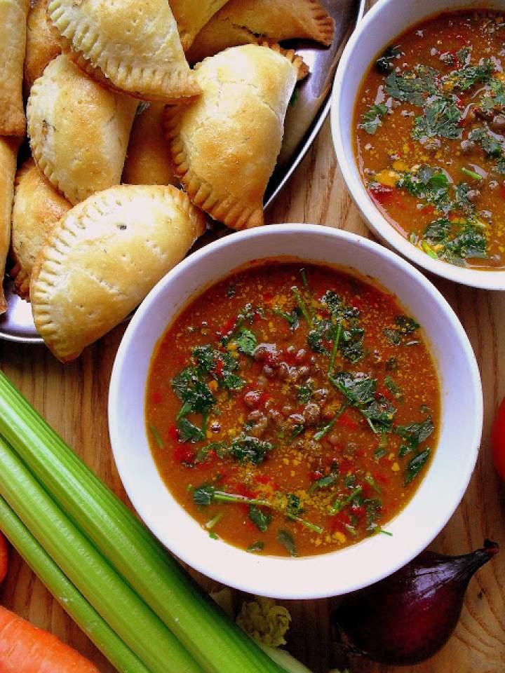 Pikantna zupa z soczewicy/ Spicy Lentil Soup