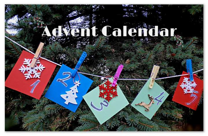 Adwentowy kalendarz -Advent Calendar