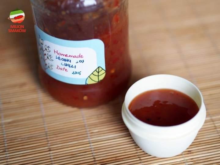 Słodki sos chili – wersja czerwona