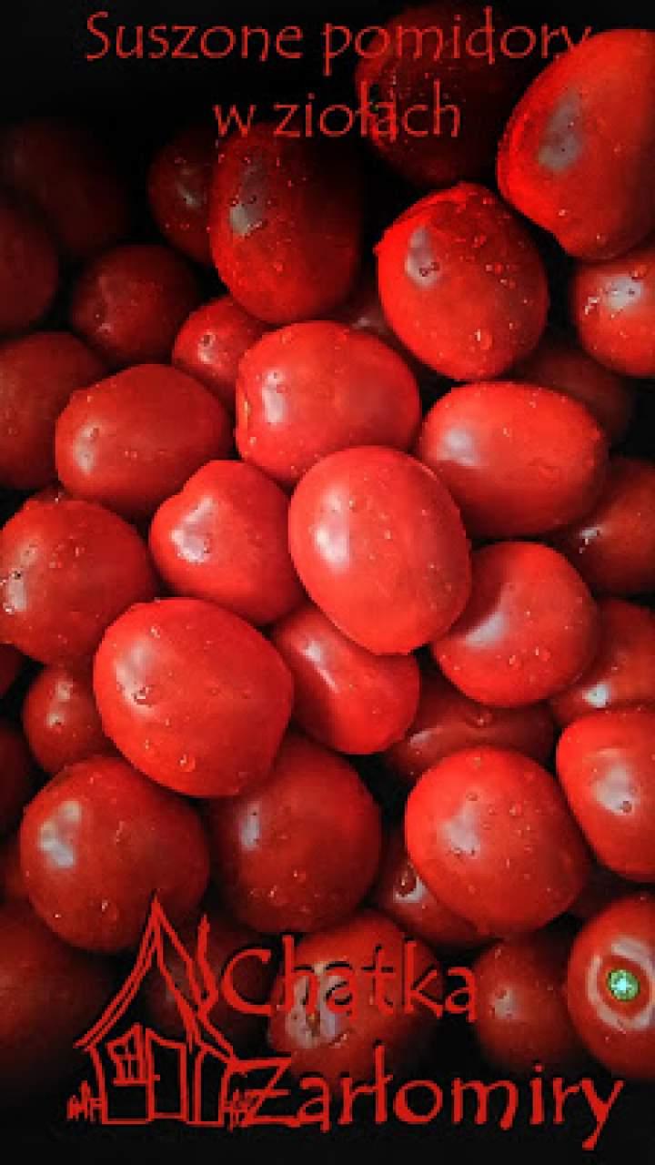 Suszone pomidory w ziołach