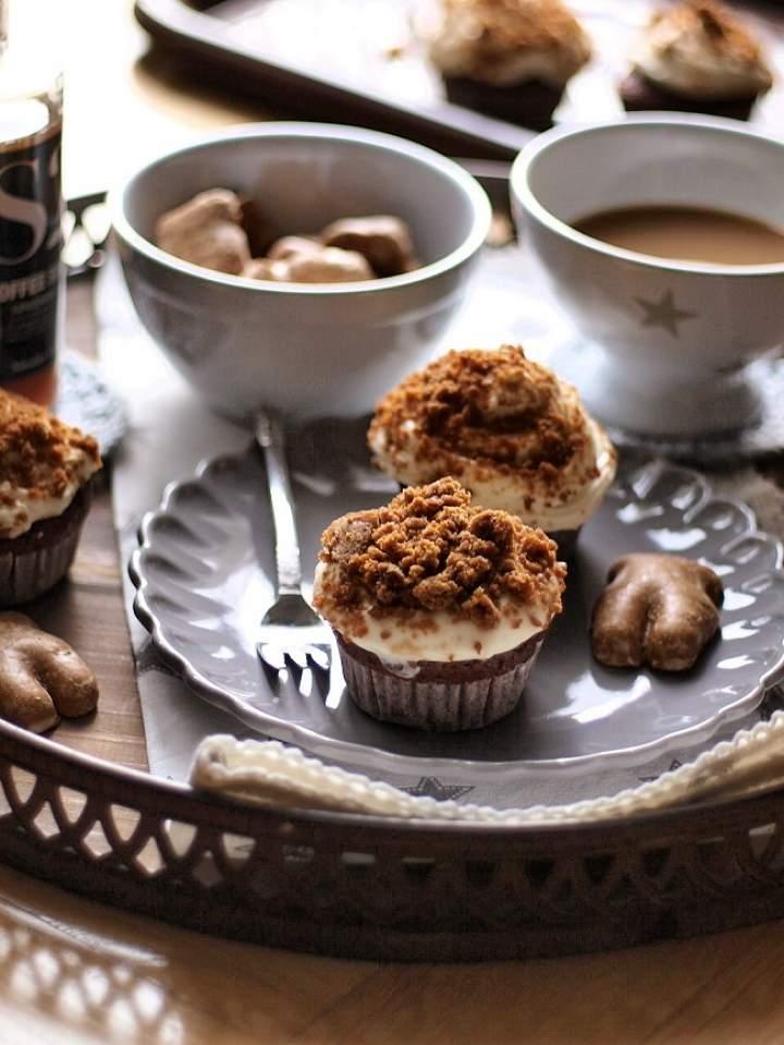 Gingerbread cupcakes (babeczki piernikowe)
