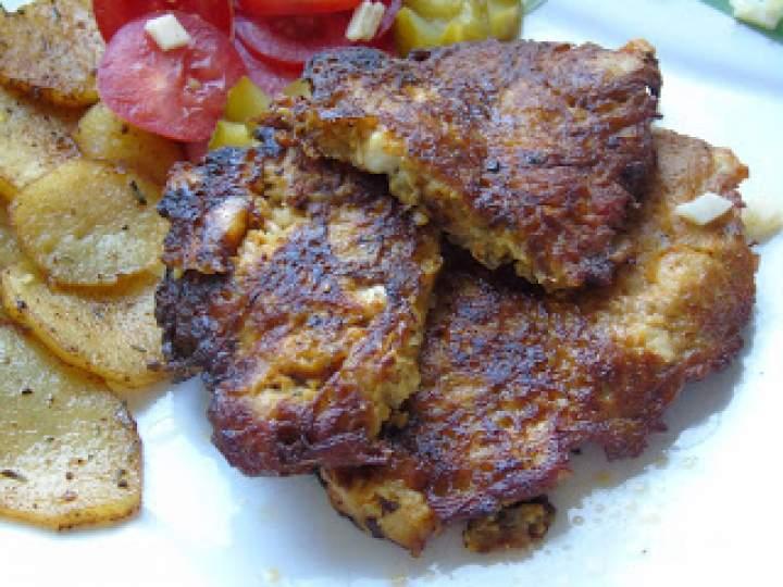 Cycuszki z kurczaka z ziemniakami