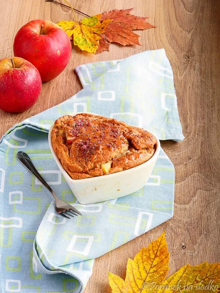 Owsiane ciasto z jabłkami w wersji fit + haul zakupowy :)