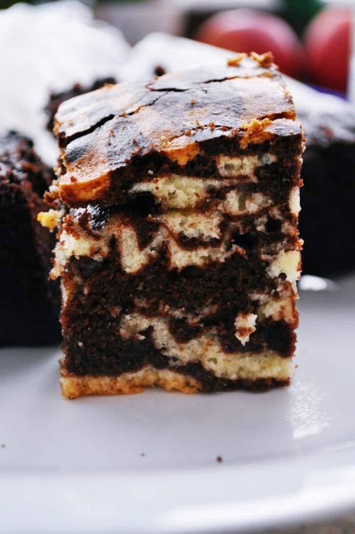 Ciasto zebra (z colą)