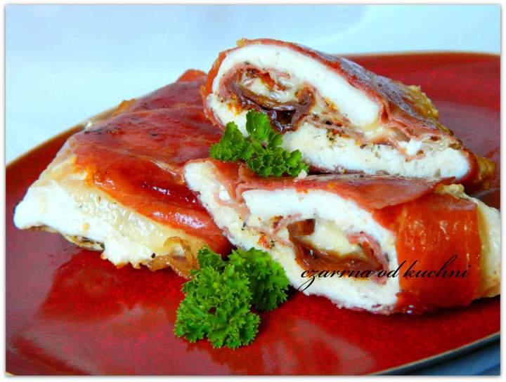 Filet z kurczaka w szynce parmeńskiej