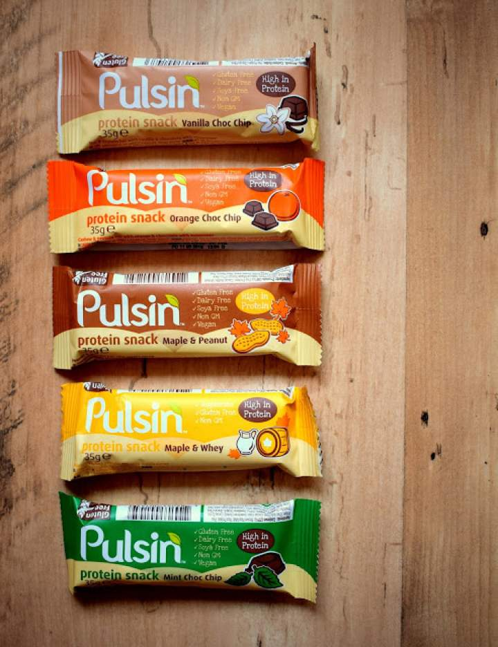Batony proteinowe Pulsin :)