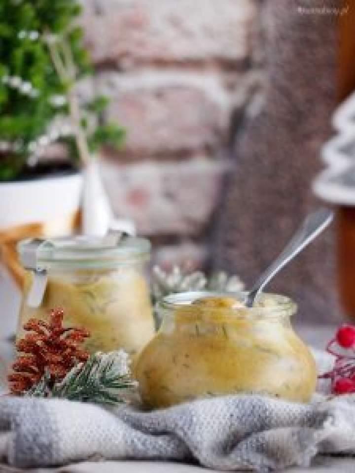 Śledzie w sosie miodowo-musztardowym / Honey mustard herring