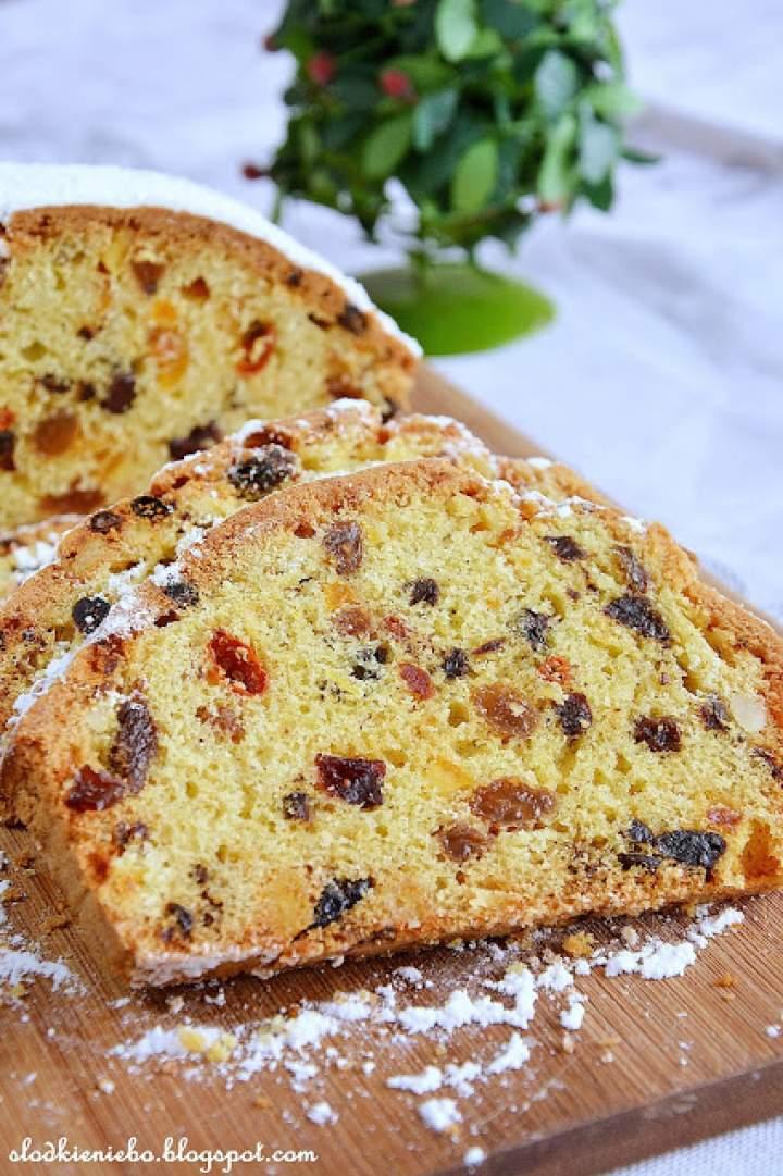 Keks / Cwibak –  ciasto biszkoptowe z bakaliami