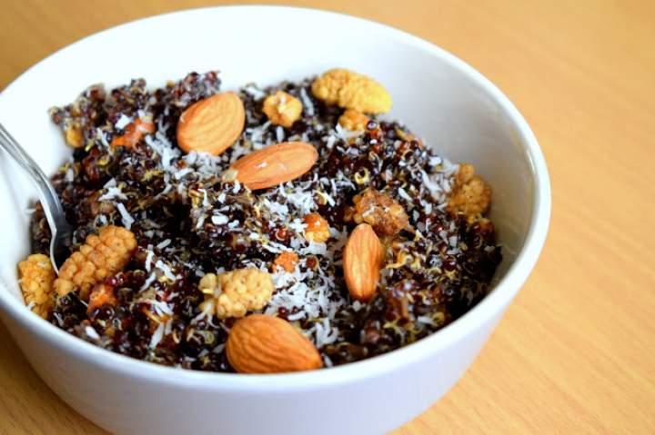 Komosa ryżowa na słodko :)